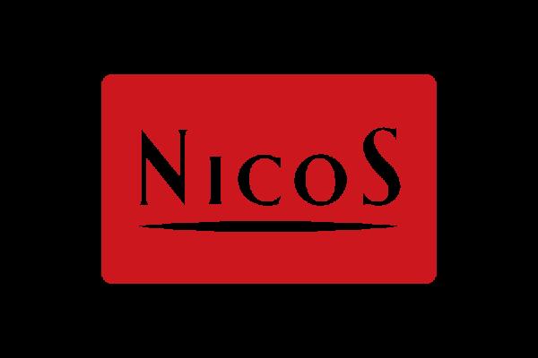 ECサイトのカード決済紹介に必要なニコス(nicos)のロゴデータです。