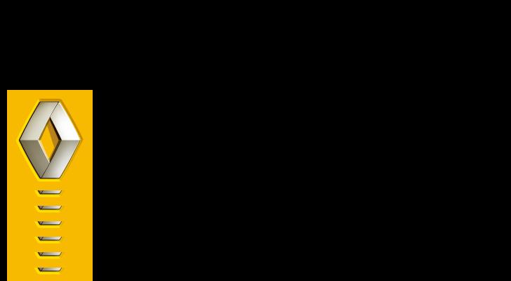 ルノー《RENAULT・自動車メーカー》のロゴ素材無料ダウンロード