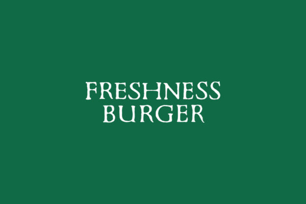 フレッシュネスバーガーのAi,JPGロゴデータ無料素材ダウンロード